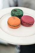 A plate of macaron at the La Folie in Kala Ghoda in Mumbai, India. Photo: Sanjit Das/Panos