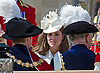 "KATE FRAMED BY BOTH PRINCES WILLIAM AND CHARLES -GARTER SERVICE 2012.The Queen and members of the Royal Family attended the annual Order of the Garter Service at Windsor Castle, Windsor_18/6/2012.Mandatory Credit Photo: ©M Larner/NEWSPIX INTERNATIONAL..**ALL FEES PAYABLE TO: ""NEWSPIX INTERNATIONAL""**..IMMEDIATE CONFIRMATION OF USAGE REQUIRED:.Newspix International, 31 Chinnery Hill, Bishop's Stortford, ENGLAND CM23 3PS.Tel:+441279 324672  ; Fax: +441279656877.Mobile:  07775681153.e-mail: info@newspixinternational.co.uk"