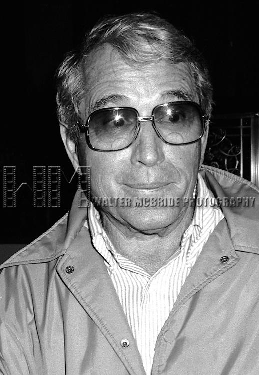 Perry Como in New York City, December 2, 1982.
