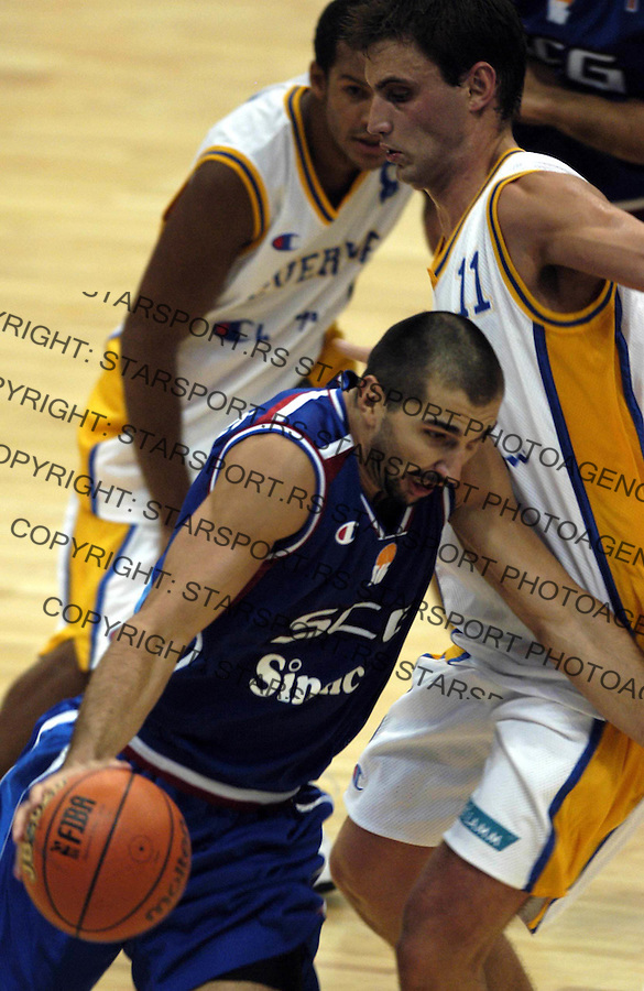 SPORT KOSARKA  SCG - SVEDSKA&amp;#xA;Predrag Stojakovic&amp;#xA;6.09.2003. foto: Pedja Milosavljevic<br />