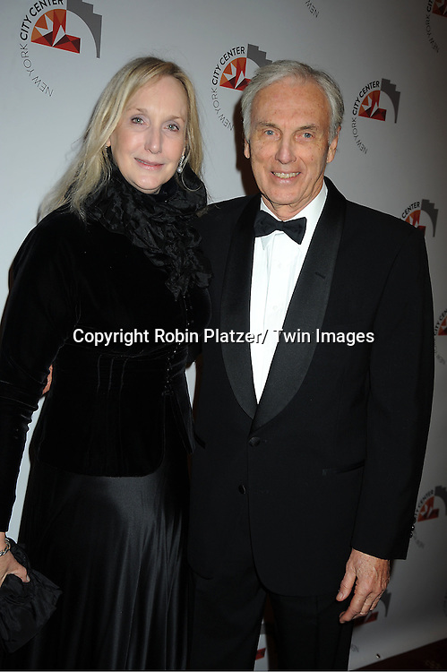 Monica and Ray Lamontaine attends the New York City Center Reopening on October 25, 2011 at City Center in New York City.