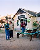 AUSTRIA, Monchof, patrons of the Gasthaus Inn, the café at the Dorf Museum, Burgenland
