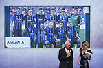 Antonio Percassi President of Atalanta named best Club of the year 2019 pictured at the The Italian Footballers Association Grand Gala of Football at the Megawatt Court, Milan. Picture date: 2nd December 2019. Picture credit should read: Jonathan Moscrop/Sportimage