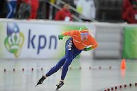 SCHAATSEN: BOEDAPEST: Essent ISU European Championships, 08-01-2012, 10000m Men, Ted Jan Bloemen NED, ©foto Martin de Jong