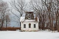 Winter Windmill<br /> Baiting Hollow, Long Island