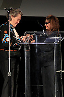 BEVERLY HILLS - NOV 11: Dr Temple Grandin, Laura San Giacomo at AMT's 2017 D.R.E.A.M. Gala benefiting Autism Works Now at Montage Beverly Hills on November 11, 2017 in Beverly Hills, California