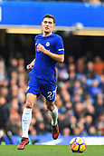 2nd December 2017, Stamford Bridge, London, England; EPL Premier League football, Chelsea versus Newcastle United; Andreas Christensen of Chelsea