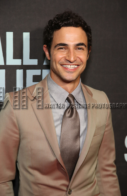 "Zac Posen attends the Broadway Opening Night performance of ""Sea Wall / A Life"" at the Hudson Theatre on August 08, 2019 in New York City."