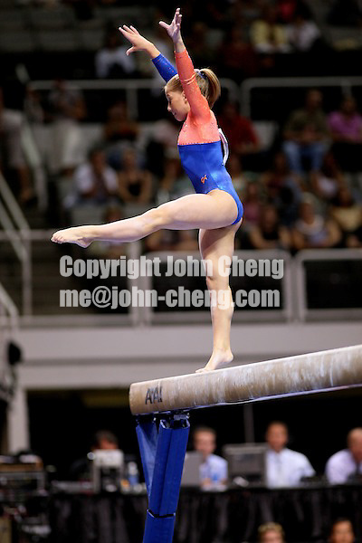 Photo by John Cheng - VISA Championships 2007 in San Jose, CA.Shawn Johnson