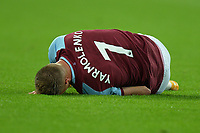 Andriy Yarmolenko of West Ham United gos down during West Ham United vs Charlton Athletic, Caraboa Cup Football at The London Stadium on 15th September 2020
