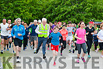 Minister Jimmy deenihan takes off at the start of the Killarney Parkrun on Saturday