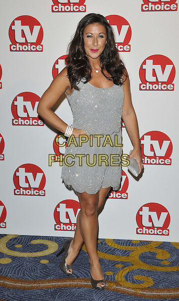 LONDON, ENGLAND - SEPTEMBER 08: Hayley Tamaddon attends the TV Choice Awards 2014, London Hilton Park Lane Hotel, Park Lane, on Monday September 08, 2014 in London, England, UK. <br /> CAP/CAN<br /> &copy;Can Nguyen/Capital Pictures