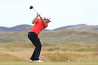 Matthew Nixon (ENG) on the 11th tee during Round 3 of the Dubai Duty Free Irish Open at Ballyliffin Golf Club, Donegal on Saturday 7th July 2018.<br /> Picture:  Thos Caffrey / Golffile