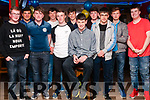 18th Birthday: Danny Quilter, Irremore , Listowel celebrating his 18th birthday with friends at Christy's Bar, Listowel on Saturday night last.