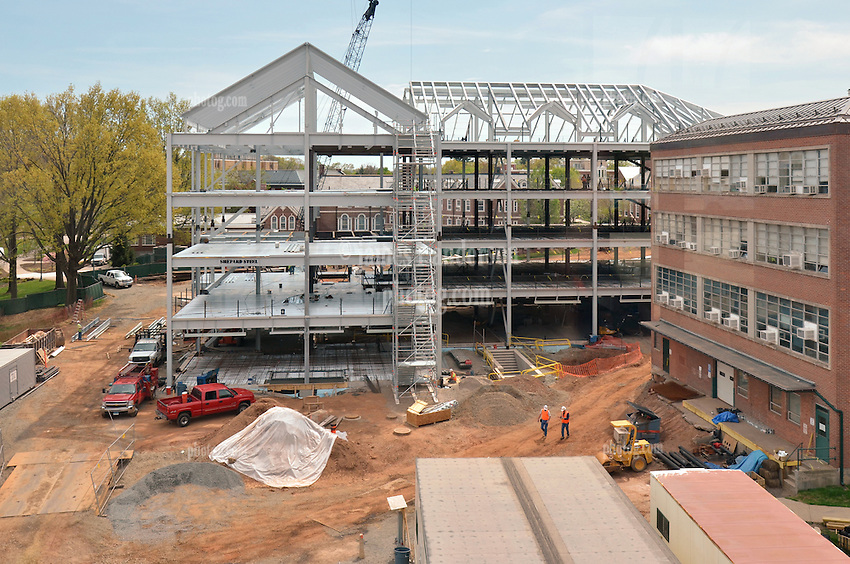 CCSU New Academic Building CT-DPW #BI-RC-324 Progress Photo, Eighth