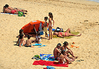 Portugal, Porto Santo, Strand von Campo de Baixo