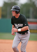 Scott Seabol of the Florida Marlins vs. the Houston Astros March 15th, 2007 at Osceola County Stadium in Kissimmee, FL during Spring Training action.  Photo copyright Mike Janes Photography 2007.
