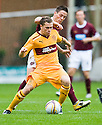 MOTHERWELL'S NICKY LAW HOLDS OFF HEARTS' IAN BLACK