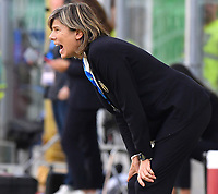 Milena Bertolini gestures during the match<br /> Palermo 08-10-2019 Stadio Renzo Barbera <br /> UEFA Women's European Championship 2021 qualifier group B match between Italia and Bosnia-Herzegovina.<br /> Photo Carmelo Imbesi / Insidefoto