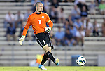 21 September 2012: UNC's Scott Goodwin. The University of North Carolina Tar Heels defeated the University of Virginia Cavaliers 1-0 at Fetzer Field in Chapel Hill, North Carolina in a 2012 NCAA Division I Men's Soccer game.