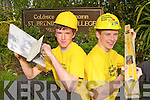 Killarney teenagers Bryan Griffin and Chris Davies who will be travelling to South Africa next November to help build houses as part of the Niall Mellon challenge.