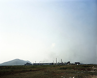 A steel plant in Kalinganagar industrial area in Orissa.