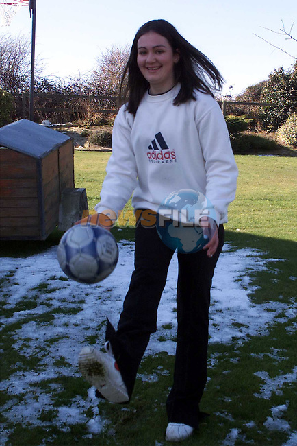Jamie McEvoy, 15, from Clogherhead, who suffers from diabetes shows that she still lives a full and active life..Picture:Newsfile