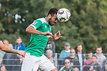 08.09.2018, pk-Sportpark, Cloppenburg, GER, FSP, SV Meppen vs Werder Bremen <br /> <br /> DFL REGULATIONS PROHIBIT ANY USE OF PHOTOGRAPHS AS IMAGE SEQUENCES AND/OR QUASI-VIDEO.<br /> <br /> im Bild / picture shows<br /> Claudio Pizarro (Werder Bremen #04) mit Kopfball und Treffer zum 2:4, <br /> <br /> Foto &copy; nordphoto / Ewert
