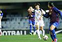 Ji So-Yun (Leonessa), FEBRUARY 2, 2012 - Football / Soccer : Charity match between FC Barcelona Femenino 1-1 INAC Kobe Leonessa at Mini Estadi stadium in Barcelona, Spain. (Photo by D.Nakashima/AFLO) [2336]