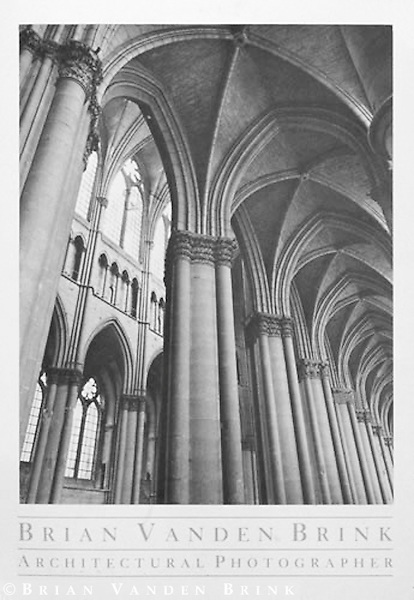 REIMS CATHEDRAL<br /> Reims, France © Brian Vanden Brink, 1984