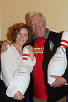 Liz Keifer and Jerry ver Dorn - 13th Annual Daytime Stars and Strikes Bowling for Autism on April 23, 2016 at Bowler City Lanes in Hackensack, NJ hosted by Jerry ver Dorn and Liz Keifer  (Photo by Sue Coflin/Max Photos)