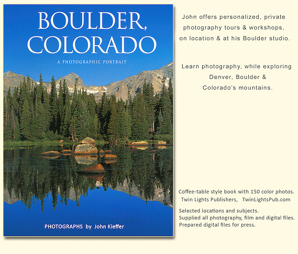 Private guided tours of Boulder and surrounding mountains by John.<br />