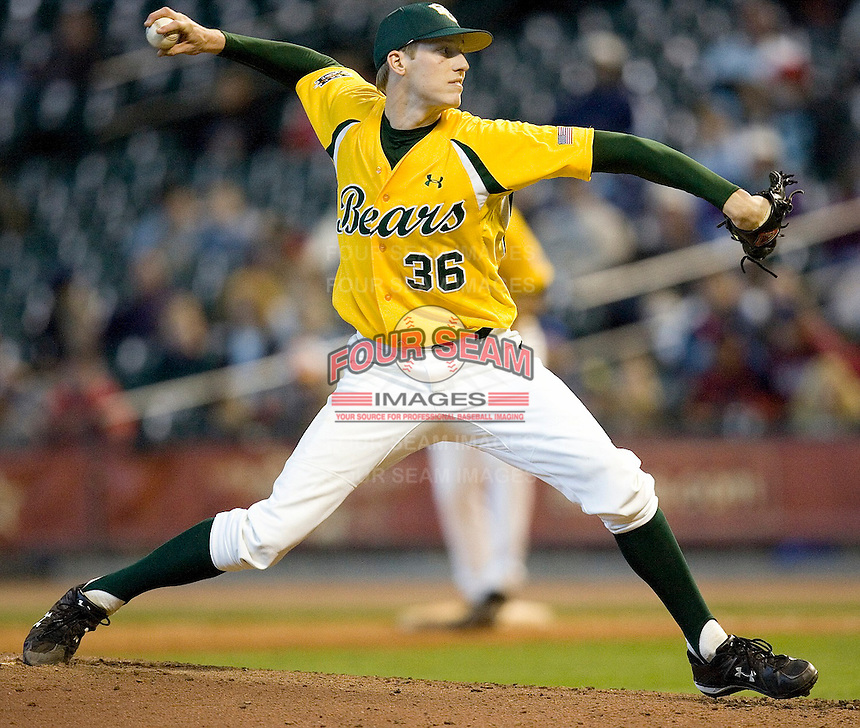 Fritsch, Craig 3944 (Andrew Woolley).jpg. NCAA baseball, Houston College Classic. Baylor Bears vs Rice Owls. Minute Maid Park. March 1st, 2009 in Houston, Texas. Photo by Andrew Woolley.