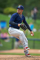 Cedar Rapids Kernels pitcher Jose Velez (41) delivers a pitch during a game against the West Michigan Whitecaps on June 7, 2015 at Fifth Third Ballpark in Comstock Park, Michigan.  West Michigan defeated Cedar Rapids 6-2.  (Mike Janes/Four Seam Images)
