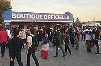 Offizieller Fanshop am Stadion - 16.10.2018: Frankreich vs. Deutschland, 4. Spieltag UEFA Nations League, Stade de France, DISCLAIMER: DFB regulations prohibit any use of photographs as image sequences and/or quasi-video.