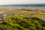 Aerial View of Portland International Airport (PDX), Portland, Oregon
