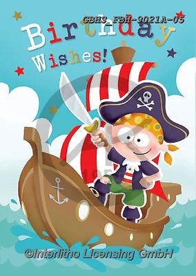 John, CHILDREN BOOKS, BIRTHDAY, GEBURTSTAG, CUMPLEAÑOS, paintings+++++,GBHSFBH-9021A-05,#bi#, EVERYDAY,pirate