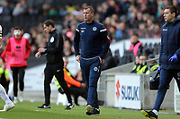 Macclesfield Town caretaker manager Neil Howarth during MK Dons vs Macclesfield Town, Sky Bet EFL League 2 Football at stadium:mk on 17th November 2018
