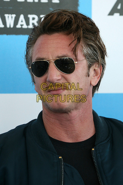 SEAN PENN.2007 Film Independent's Spirit Awards at the Santa Monica Pier, Santa Monica, California, USA,.24 February 2007..portrait headshot sunglasses.CAP/ADM/BP.©Byron Purvis/AdMedia/Capital Pictures.