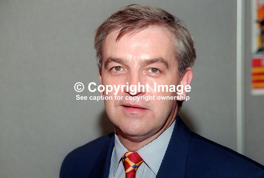 Jim Dowd, MP, Labour Party, UK, October, 1997, 199710012 <br />