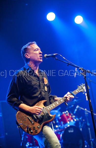 Concert of the American alternative rock band Buffalo Tom at the Crammerock festival, in Stekene (Belgium, 06/09/2014)