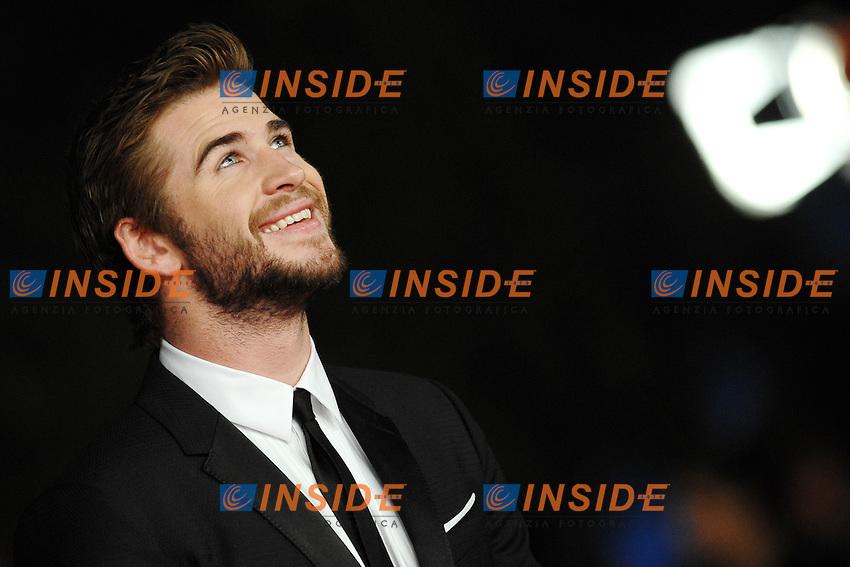 Liam Hemsworth<br /> Roma 14-11-2013 Auditorium <br /> Festival Internazionale del Film di Roma<br /> Rome Film Festival,Red Carpet &quot;The Hunger Games: Catching Fire&quot;<br /> Foto Antonietta Baldassarre / Insidefoto