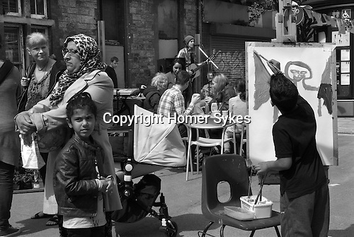 Made In Spring. Roath Cardiff Wales. Andrew Skelton performs at Made in Spring. May 2014