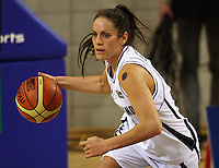 Tall Ferns forward Natalie Purcell during the International women's basketball match between NZ Tall Ferns and Australian Opals at Te Rauparaha Stadium, Porirua, Wellington, New Zealand on Monday 31 August 2009. Photo: Dave Lintott / lintottphoto.co.nz