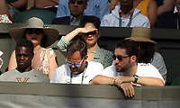 LONDON, ENGLAND - JULY 06: David Cameron, William Hague at day five of the Wimbledon Tennis Championships at the The All England Lawn Tennis Club on July 6, 2018 in London, England<br /> <br /> CAP/MPI122<br /> &copy;MPI122/Capital Pictures