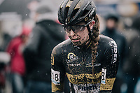 Fleur Nagengast (NED/Telenet Fidea Lions) post-finish<br /> <br /> Women's Race<br /> CX Vlaamse Druivencross Overijse 2017