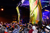 Timeflies entertains the Freak Fest crowd Saturday on the Mountain Dew / Madison State Capitol Stage during Freakfest 2015 on State Street in Madison, Wisconsin