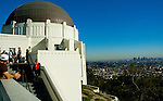 Outside Griffith Conservatory, Hollywood California
