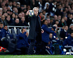 Tottenham's Jose Mourinho during the UEFA Champions League match at the Tottenham Hotspur Stadium, London. Picture date: 26th November 2019. Picture credit should read: David Klein/Sportimage