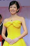 Yasuko Sawaguchi, Jan 21, 2015 : Japanese actress Yasuko Sawaguchi attends the 27th Japan Best Jewellery Wearer Awards ceremony in Tokyo, Japan on January 21, 2016. (Photo by AFLO)